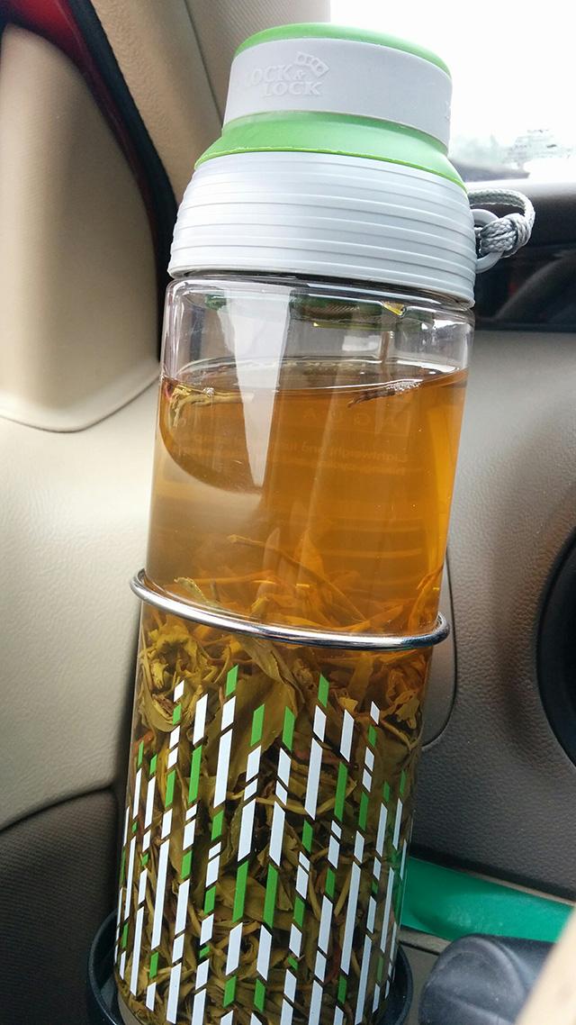 自家的春茶