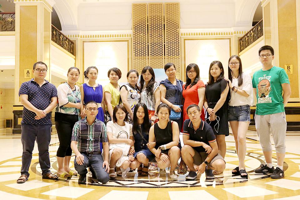 酒店大堂,十周年同学会