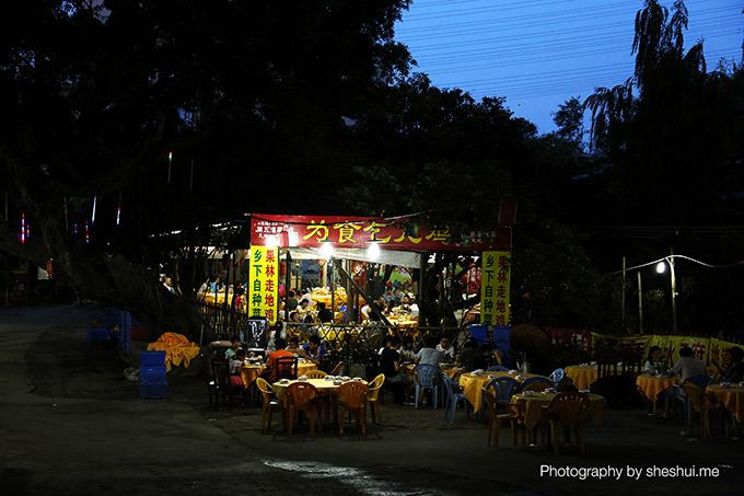 广州小洲村